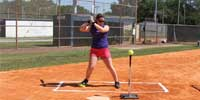 Fastpitch Softball Power Pod to increase hitting power