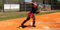 Fastpitch Softball Power Pod to increase Throwers speed and strength