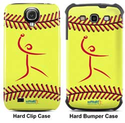 Softball Samsung Hard Case - Galaxy