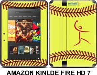 Softball Excellence Skin - Amazon Kindle Fire HD 7