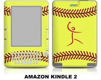 Softball Excellence Skin - Amazon Kindle 2