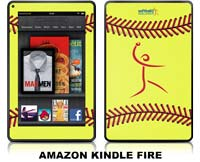 Softball Excellence Skin - Amazon Kindle Fire