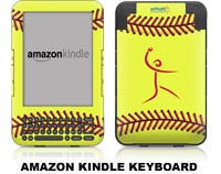 Softball Excellence Skin - Amazon Kindle Keyboard